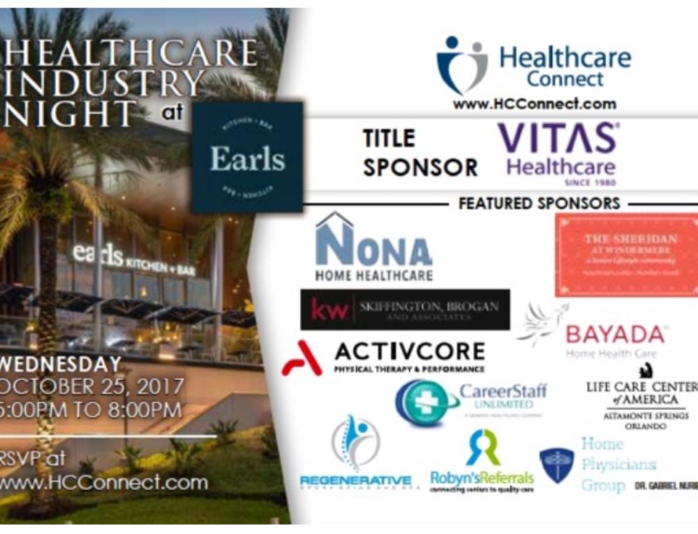 Orlando Healthcare Industry Night October 25, 2017